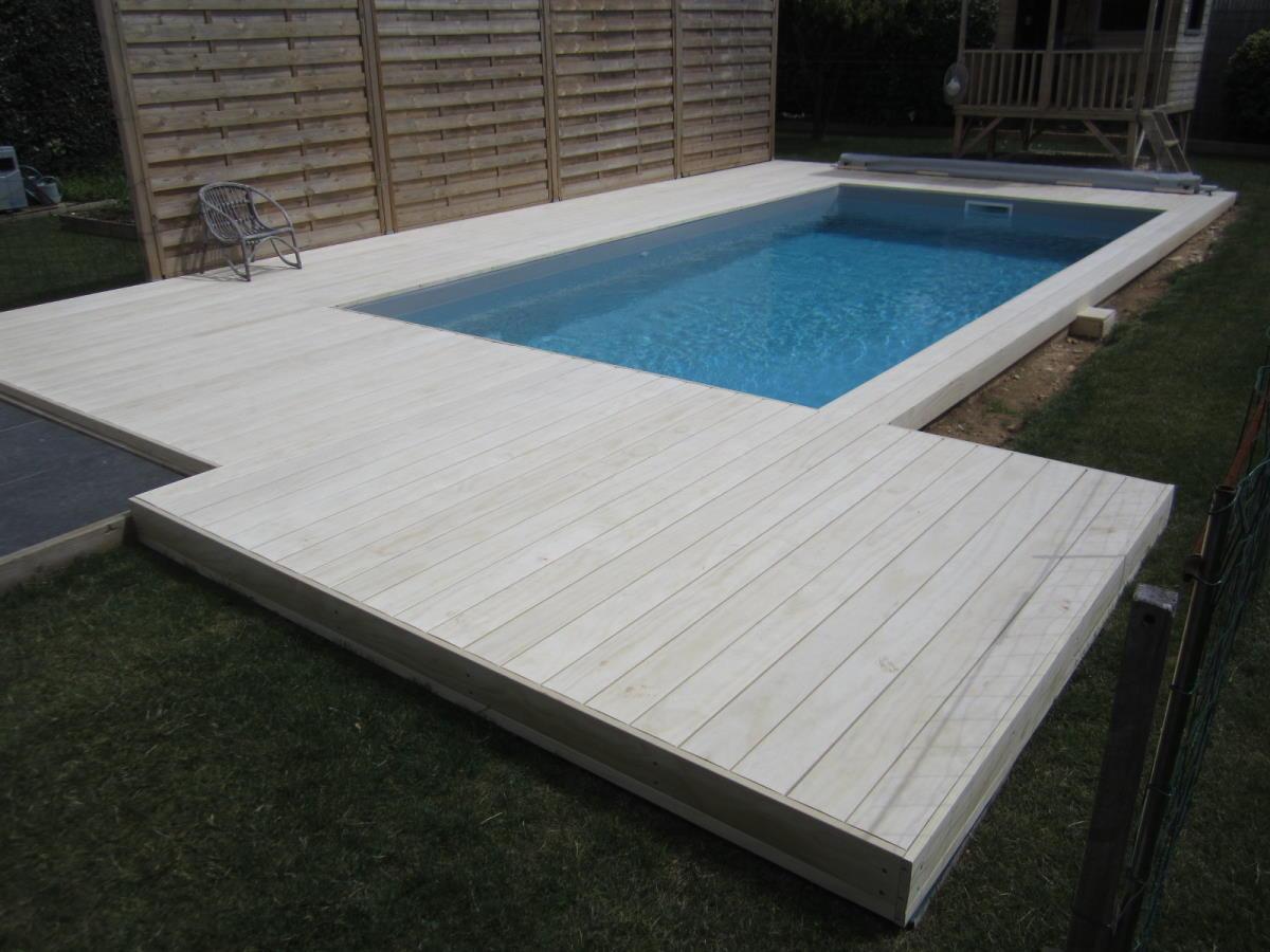 Montage de la terrasse par le client