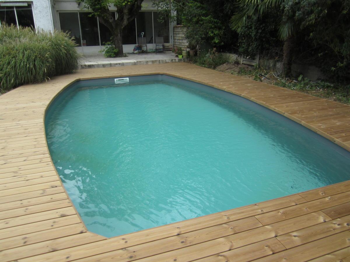 Mise en valeur du bassin par la chaleur du bois