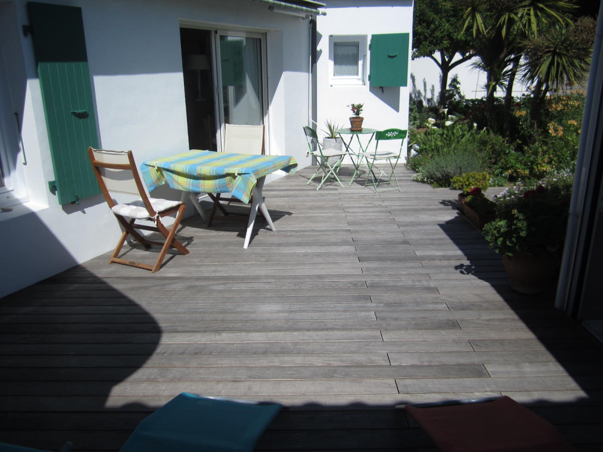 Création terrasse bois