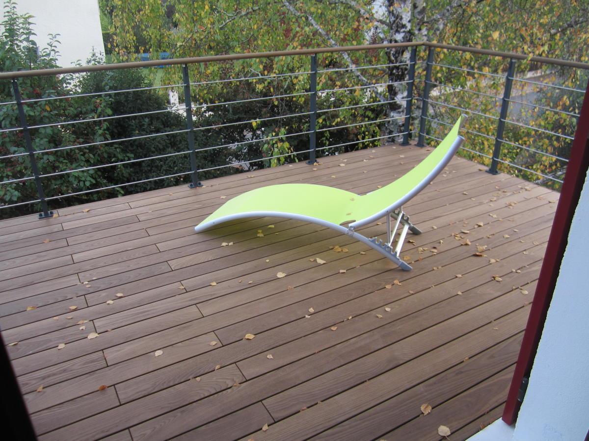 L'élégance d'une terrasse en Thermofrêne