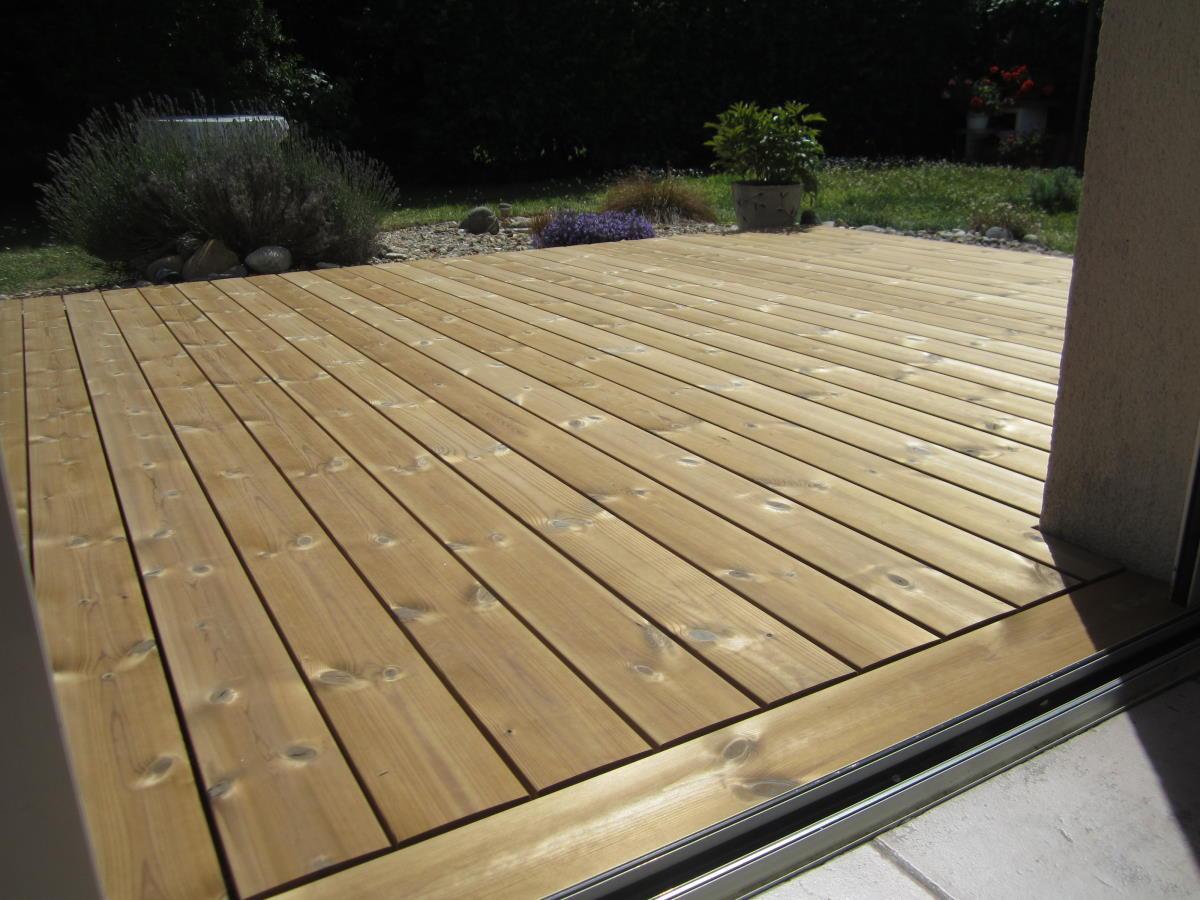 Terrasse bois sans vis