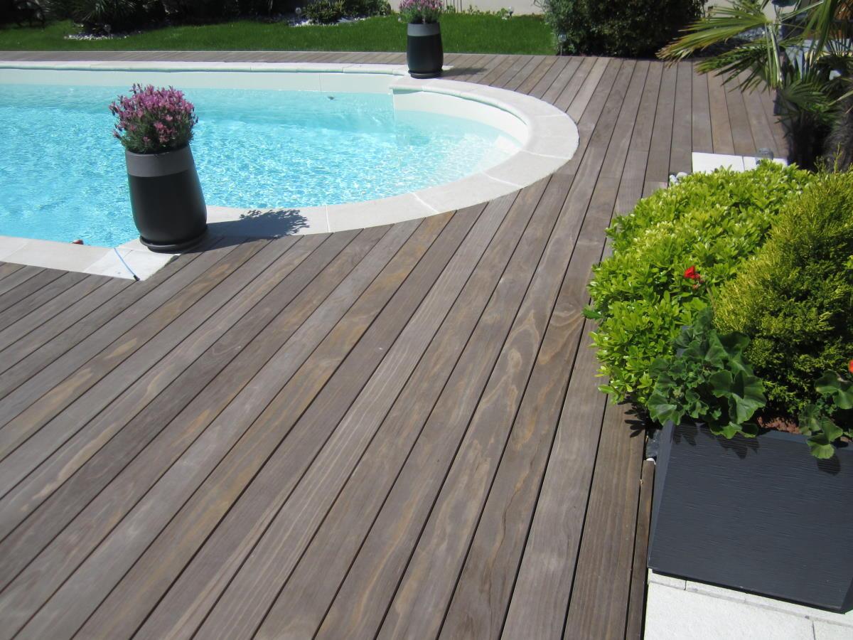 Terrasse bois clipsée