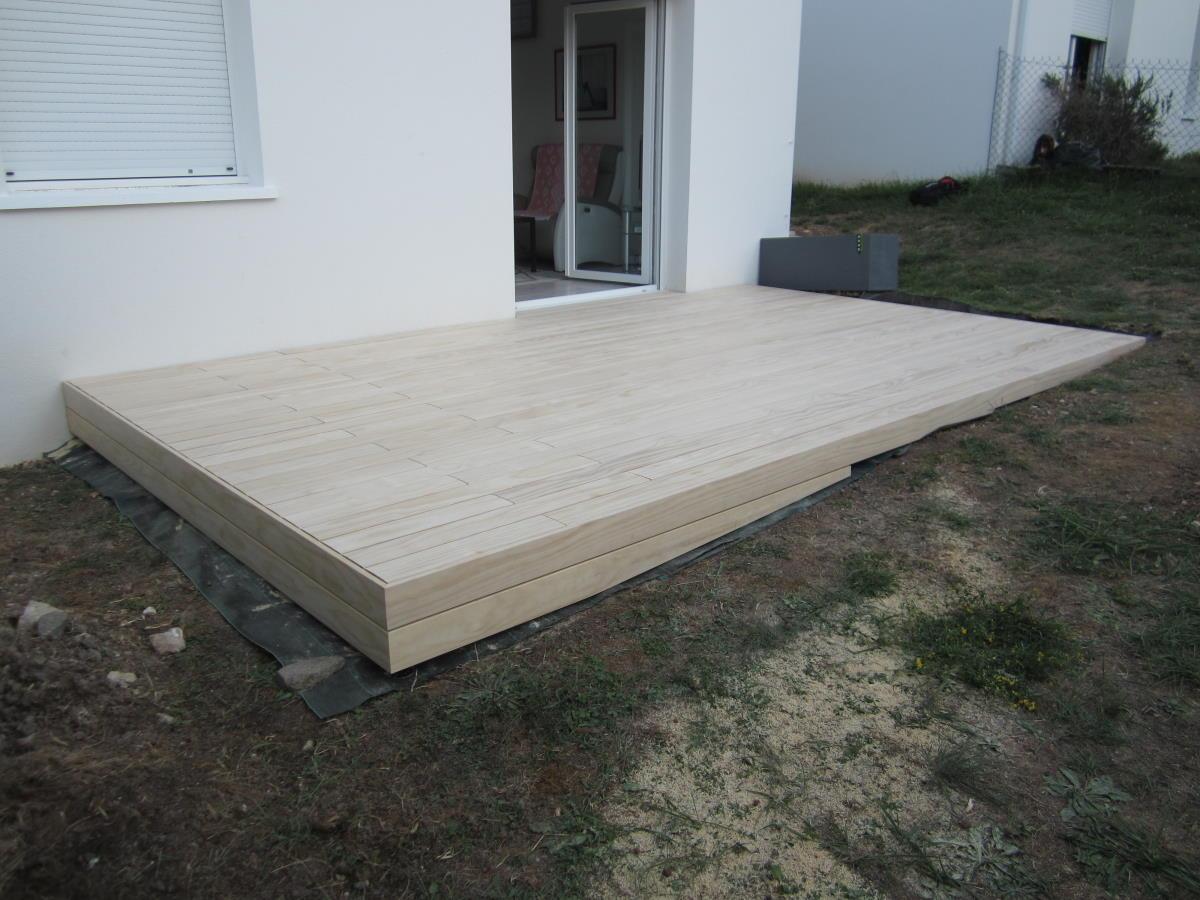 Pose terrasse bois à Royan (17)