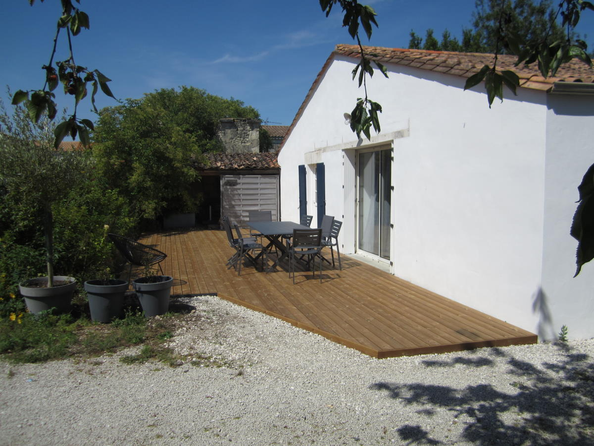 Remplacement terrasse bois à Saint Médard d'Aunis (17)