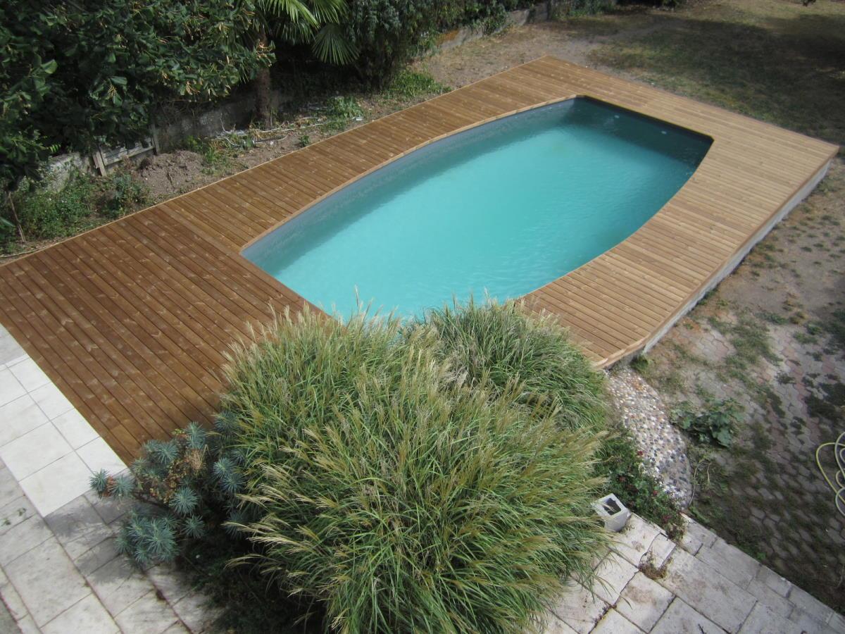 Rénovation plage de piscine à Niort (79)