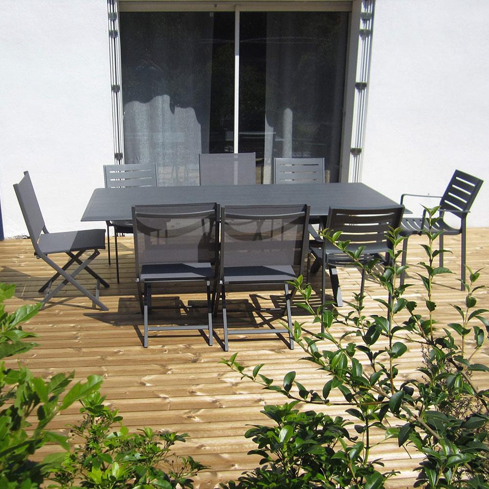 Création de terrasse en bois près de La Rochelle