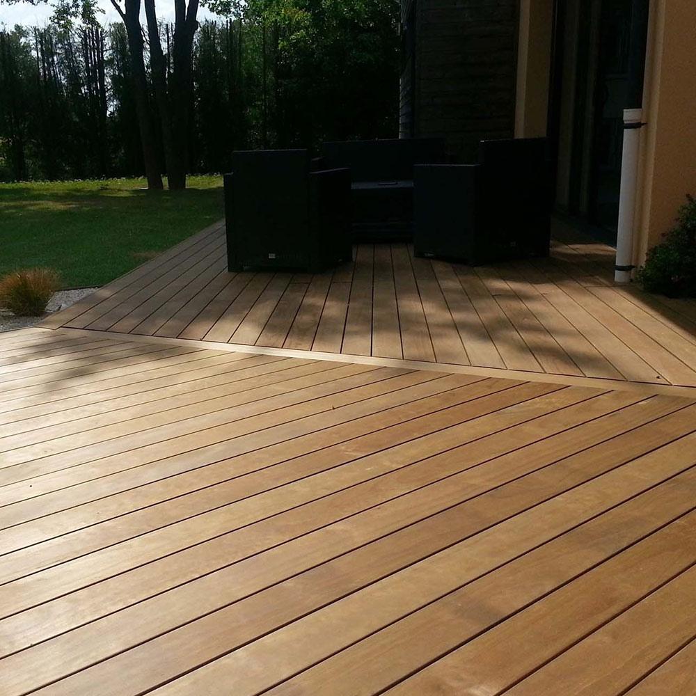 Création de terrasse en bois près de Niort